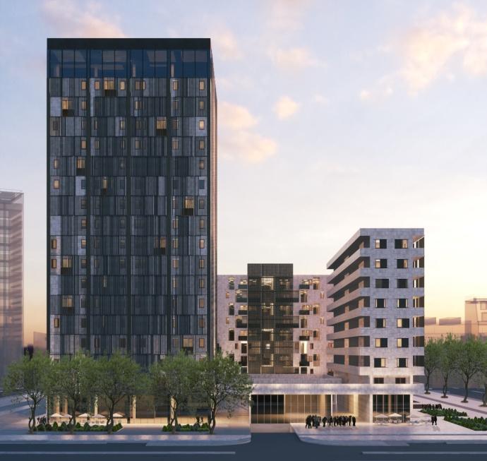 Победник за станбени згради за конкурс организиран од Стрелка КБ и Министерство на Русија